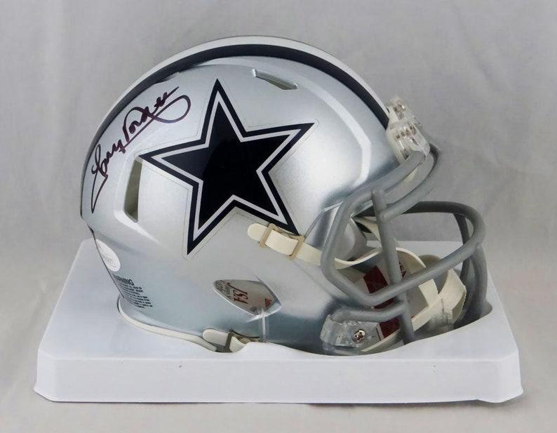 f65c5e2e8e2 Tony Dorsett Autographed Signed Dallas Cowboys Mini Helmet JSA | Etsy