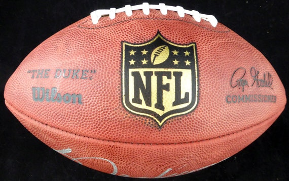 promo code f3f62 591f3 Bo Jackson Oakland Raiders Autographed Signed NFL Leather Football BECKETT