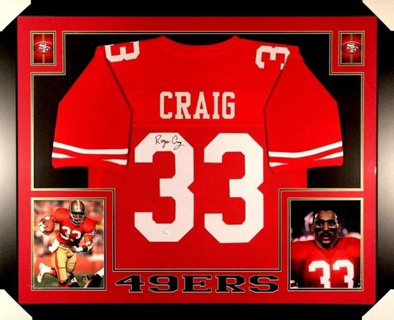 Roger Craig Autographed Signed Framed San Francisco 49ers | Etsy