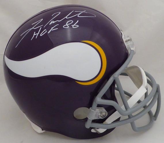 cdefcf29 Fran Tarkenton Autographed Signed Minnesota Vikings Full Size   Etsy