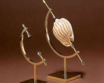 """Mineral, Ornament, Gem, Shell, Coin, Display Stand - Caliper Type Stand 4.5"""" Caliper Stand"""