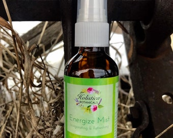 Energize Aromatherapy Mist- Pure essential oils, yoga mist