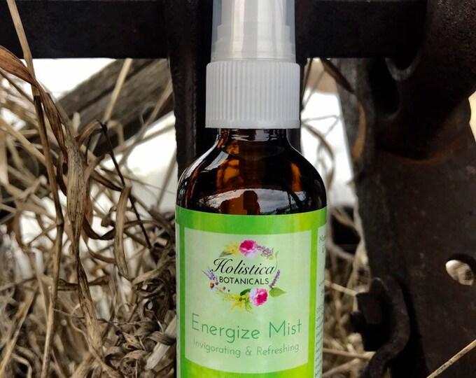 Energize Aromatherapy Mist- Pure essential oils, yoga mist