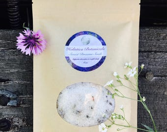 Sweet Dreams Aromatherapy Bath Soak- Dead Sea Salt, Aromatherapy Sleep