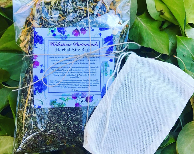 Organic Herbal After Delivery Bath - Yoni Herbs/ Postpartum Self Care