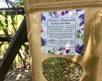 Organic Herbal After Delivery Bath - Yoni Steam, Postpartum Self Care