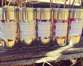 Organic Pregnancy Tea, Fertility Tea, Lactation Tea, Morning sickness Tea- Loose Leaf