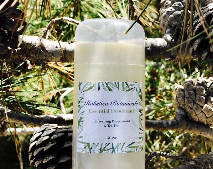 Organic Deodorant- Natural deodorant, aluminum free, pure essential oil