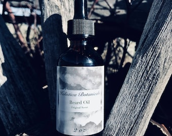 Organic Beard Oil - Herb infused, Mountain Aromatherapy Blend