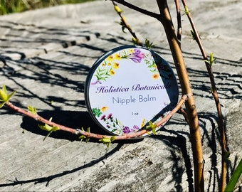 Nipple Balm- Breastfeeding balm, herbal calendula salve