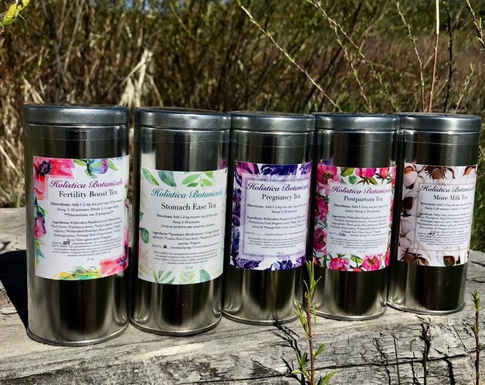 Organic Pregnancy Tea, Fertility Tea, Breastfeeding Tea, Morning sickness Tea- Loose Leaf