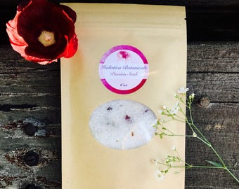 Passion Aromatherapy Bath Soak- Rose Bath Salts
