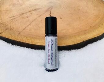 Cramp Free Essential Oil Blend- Mestrual pain relief, hormone balancing