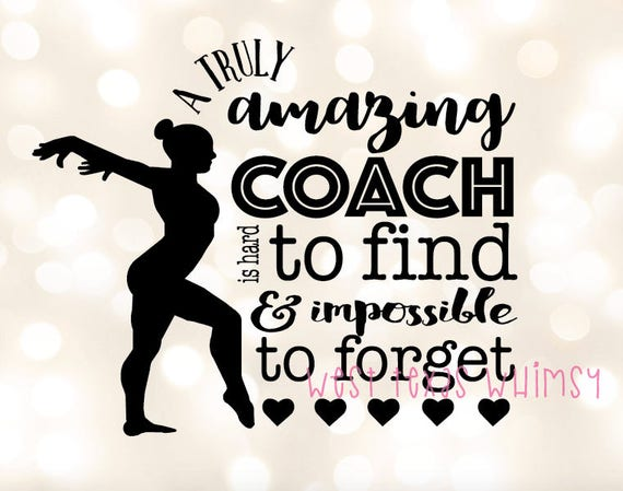 Gymnastics Coach Svg Gymnast Svg Gymnastics Silhouette Etsy