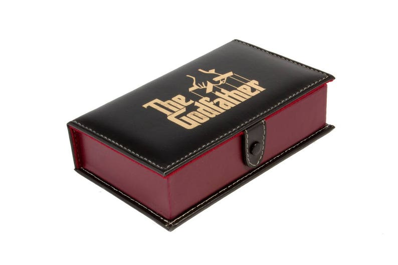The Godfather Domino Game Set Double 6 Dominoes Man Men Gift Dominos Man Cave Father Dad Husband Boyfriend Christmas Birthday Gift Al Pacino