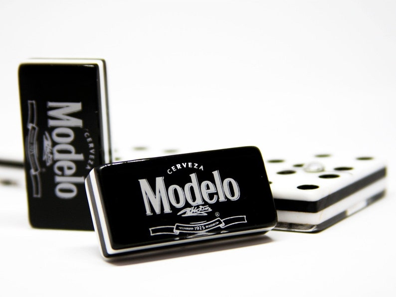 Cerveza Modelo Beer Domino Game Set Double Six Dominoes Man Men Father Dad Brother Groom Birthday Christmas Hot Gift Dominos Man Cave Bar