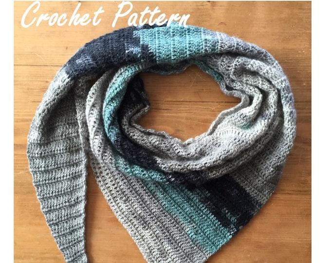 Bennett Shawl Crochet Pattern//PDF Crochet Pattern//DIY Shawl Pattern