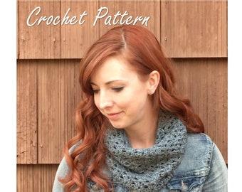 Autumn River Cowl Crochet Pattern//PDF Crochet Pattern//Crochet Cowl Pattern