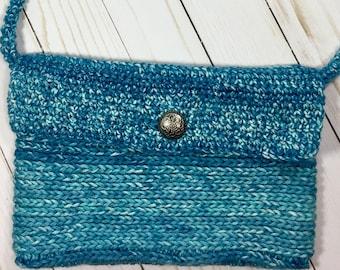 Ocean Blue Crossbody Bag