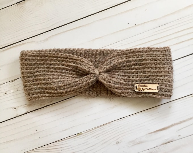 Knotted Headband in Heather