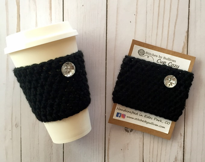 Little Black Coffee Cozy