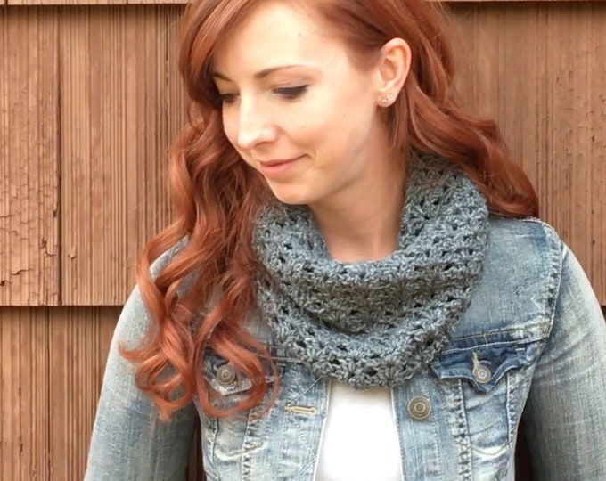 Autumn River Cowl in Vintage