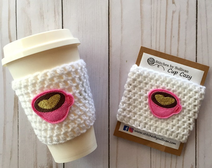 Love You a Latte Cup Cozy
