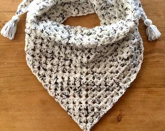 Not Your Granny's Shawl in Vanilla Bean, shawl, scarf, wrap,