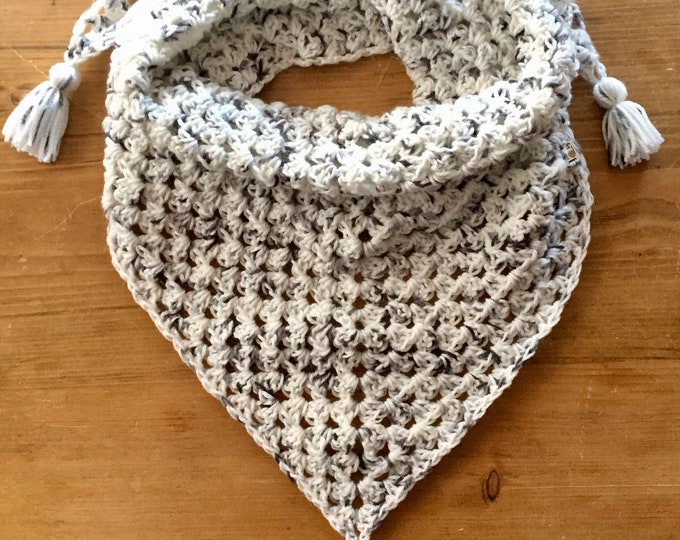 Not Your Granny's Shawl in Vanilla Bean, shawl, scarf, wrap,
