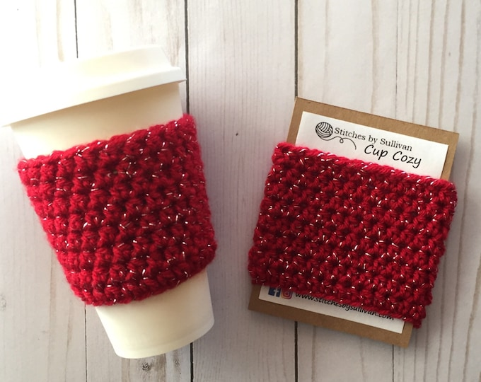 Red Hot Coffee Cozy