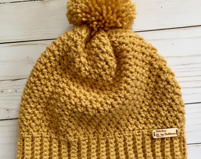 Eira Slouch in Mustard