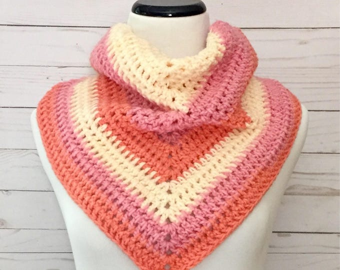 Peaches and Cream Shawl