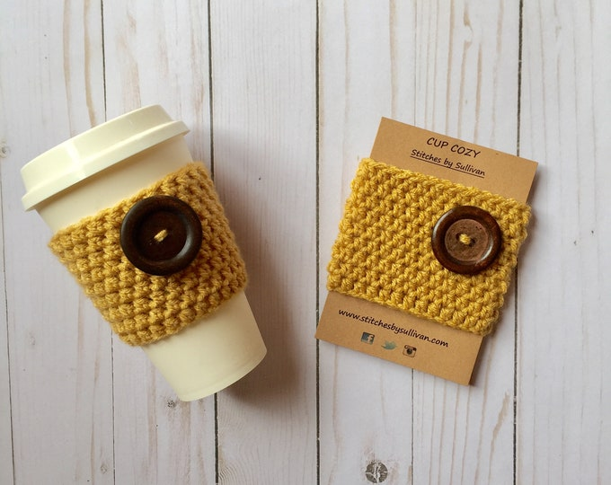 Sunshine Coffee Cozy