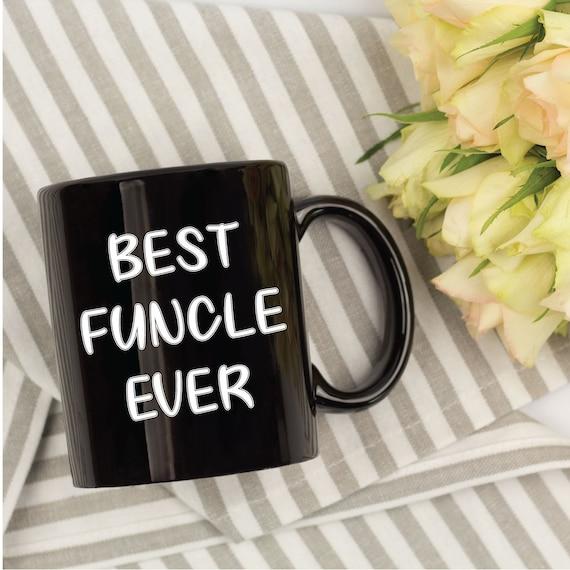 Funcle Kaffeetasse Geschenk Fur Onkel Onkel Geburtstag Etsy