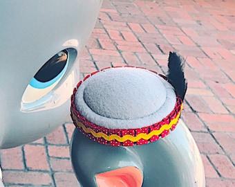 Dumbo -INSPIRED Pillbox Hat