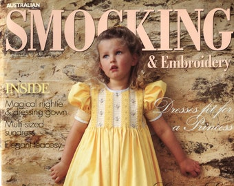 Smocked Dresses Sewing Patterns Smocking & Embroidery | Etsy