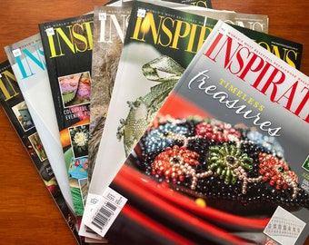 Inspirations Issues 90 - 99. Choose The Issue. Australian Embroidery Magazines from around 2016 (Australia Seller)