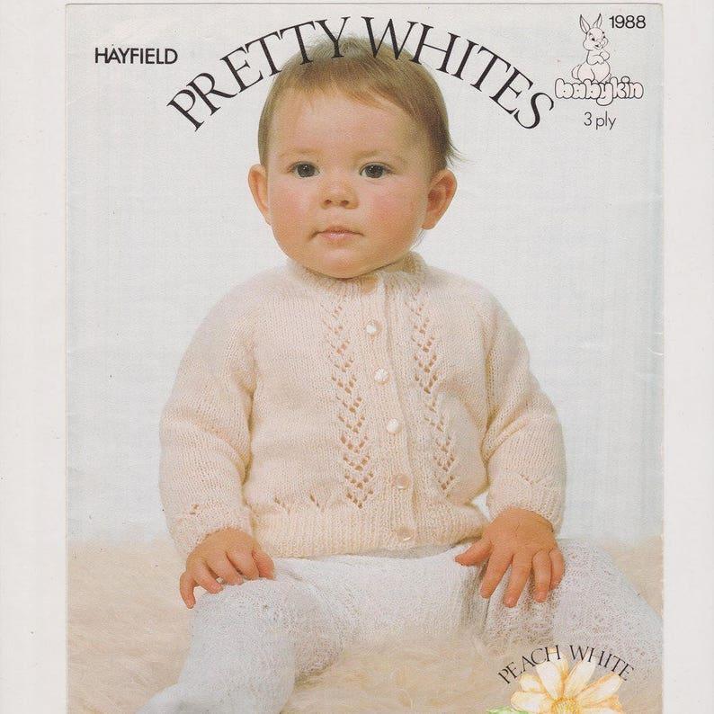 e3cf890b6 Baby Knitting Patterns Baby Cardigan Pattern Download Instant