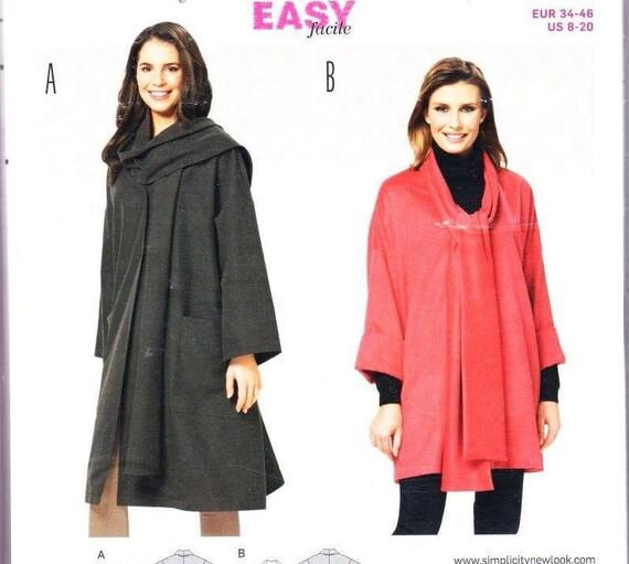 Wintermantel Muster Plus Größe Nähen Muster für Frauen einfach   Etsy
