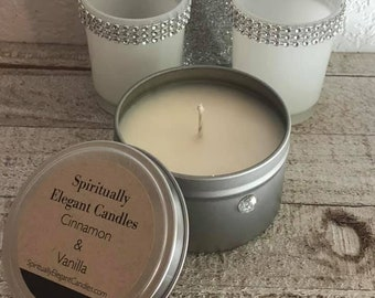 Cinnamon & Vanilla Soy Candle | Cinnamon | Vanilla | Best Soy Candles | Home Decor Candle | Scented Soy Candle