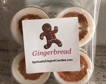 Gingerbread | Gingerbread Soy Candle | Gingerbread Scented Candle | Gingerbread Tealights
