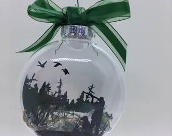 floating ornament etsy