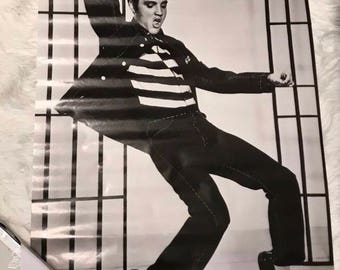 1987 Elvis Presley jailhouse rock vtg sealed prined in england original poster