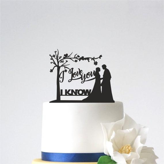Star Wars Cake Topper faite avec vos détails dans un choix de couleurs
