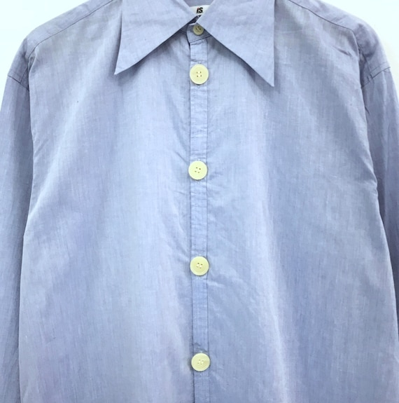 button miyake sport sleeve shirts long by Issey miyake oxford tsumori clothing japanese up shirts issey designer issey chisato miyake xIwOw0dq