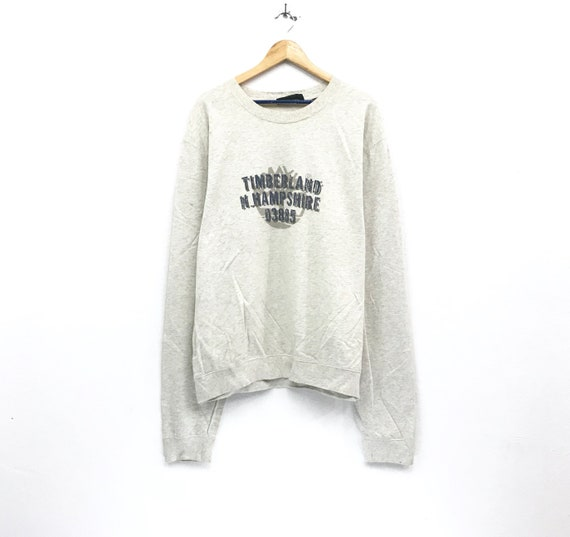 e55a70461268d Timberland Sweatshirts crewneck print spell out logo streetwear fashion  style hip hop sweatshirts pullover / overlarge size
