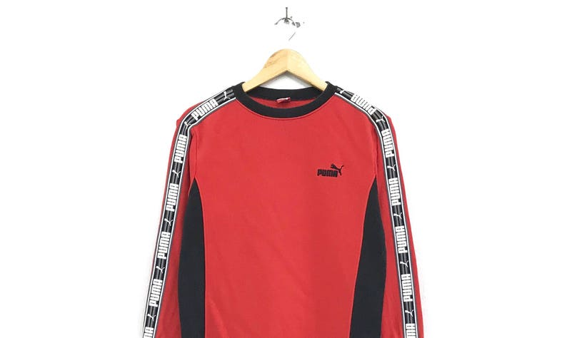 a4b61de6b2bb7 Puma crewneck Sweatshirt jumper big print spell out logo sportswear /  streetwear / hip hop / swag sweatshirts