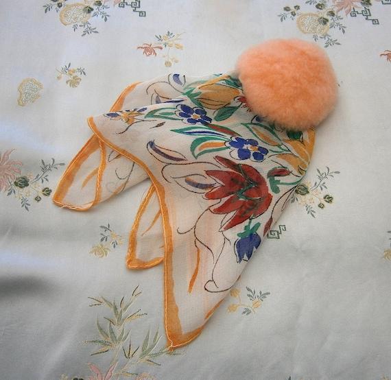 Vintage 1930s/30s 1940s/40s Handkerchief/Hankie PO