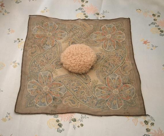Vintage 1930s/30s 1940s/40s Chiffon Handkerchief/H