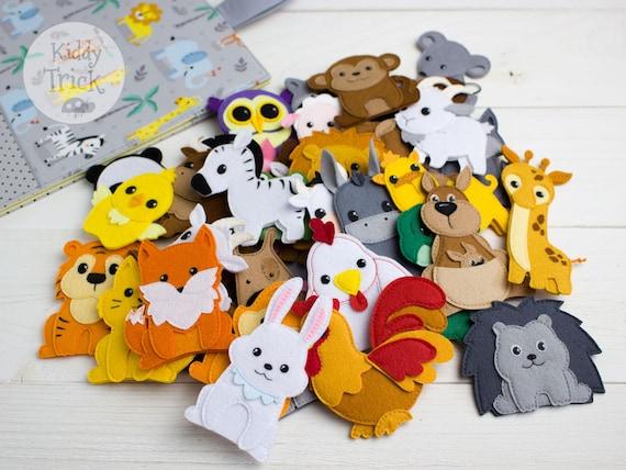 Felt Playmat Felt Toys For Kids Felt Animals Felt Toy Felt Animal Set